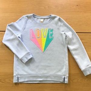 Oshkosh girl's crew neck sweatshirt.